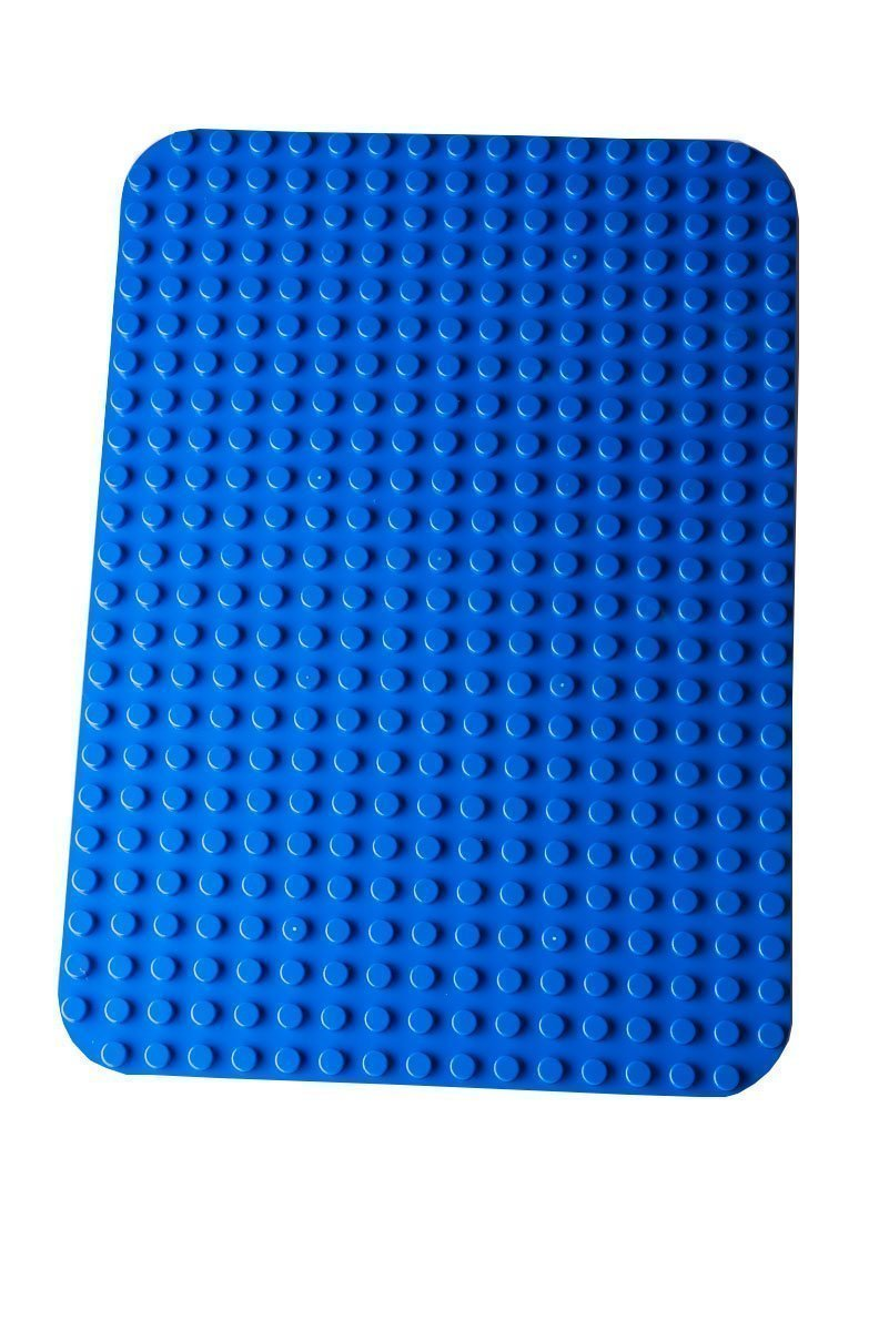 """Premium-Bauplatte - Kompatibel mit Bausteinen Aller Führenden Marken - Nur für Steine mit Großen Noppen Geeignet - 15"""" x 10,5"""" (38,1 x 26,7 cm) - Blau 5"""" (38 Strictly Briks FBA_638888948765"""