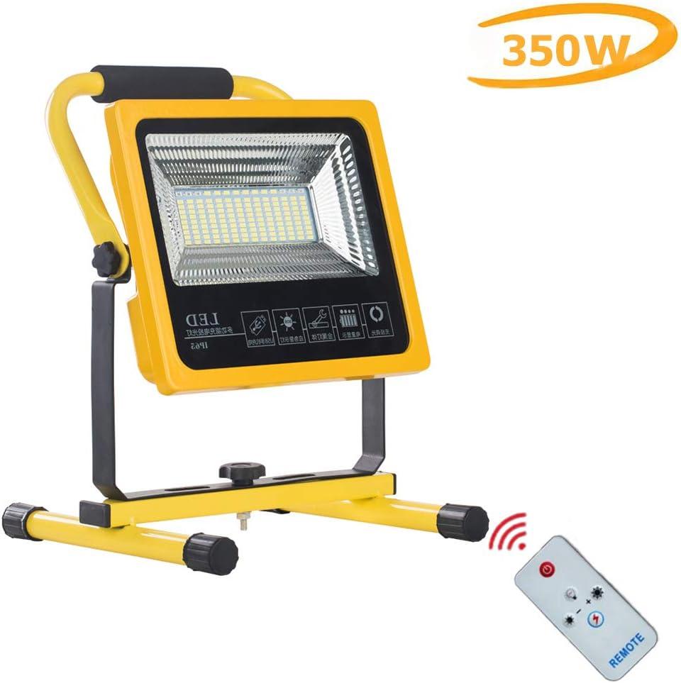 Foco Proyector LED Recargable de 350W, Lámpara de trabajo ...
