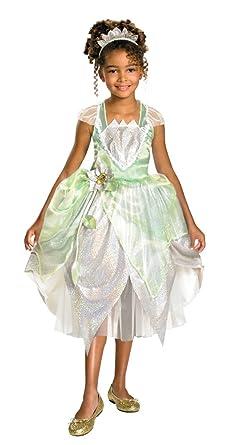 Princess Tiana Toddler Costume 3T-4T - Toddler Halloween Costume  sc 1 st  Amazon.com & Amazon.com: Princess Tiana Toddler Costume 3T-4T - Toddler Halloween ...