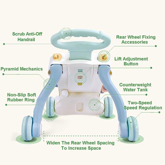 BABYSTCWJ Actividad De Primeros Pasos del Bebé Caminante Trolley ...