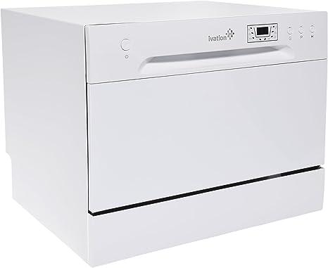 Ivation - Lavavajillas portátil – lavaplatos pequeño y compacto ...
