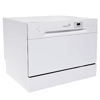Ivation - Lavavajillas portátil - lavaplatos pequeño y compacto ...