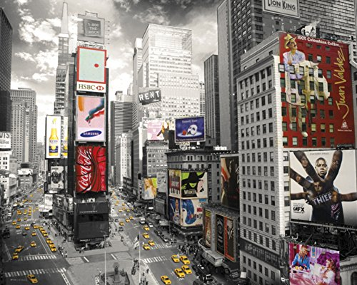 New York Times Square 2 Art Print Poster