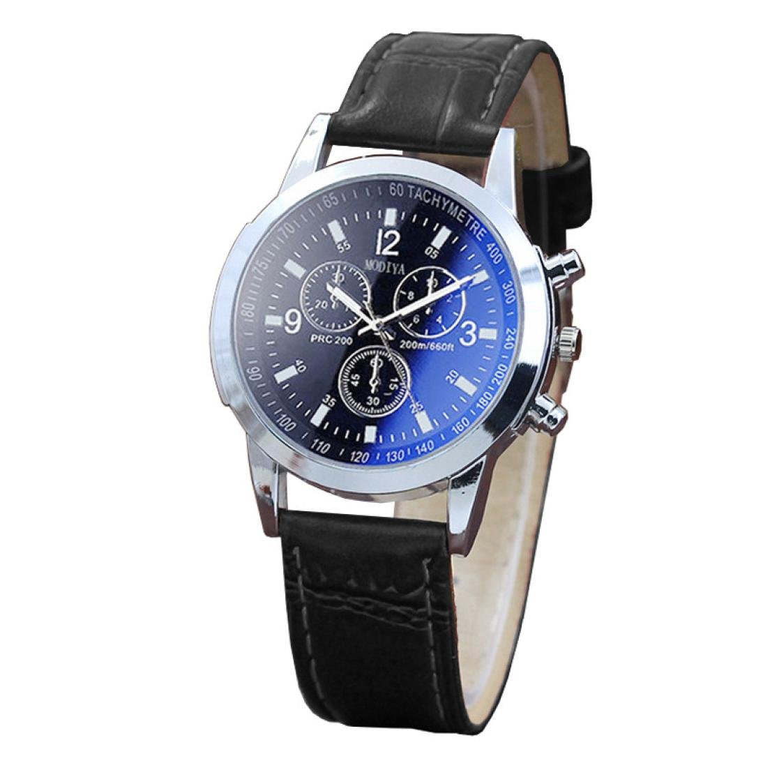 MOKO-PP Belt Sport Quartz Hour Wrist Analog Watch (C, Free Size) by MOKO-PP (Image #1)