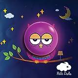 ⭐ [Bébé Dodo®] Veilleuse Bébé / Enfant - Lumière douce et apaisante - Veilleuse LED murale à pile + stickers muraux [piles AAA non incluses]