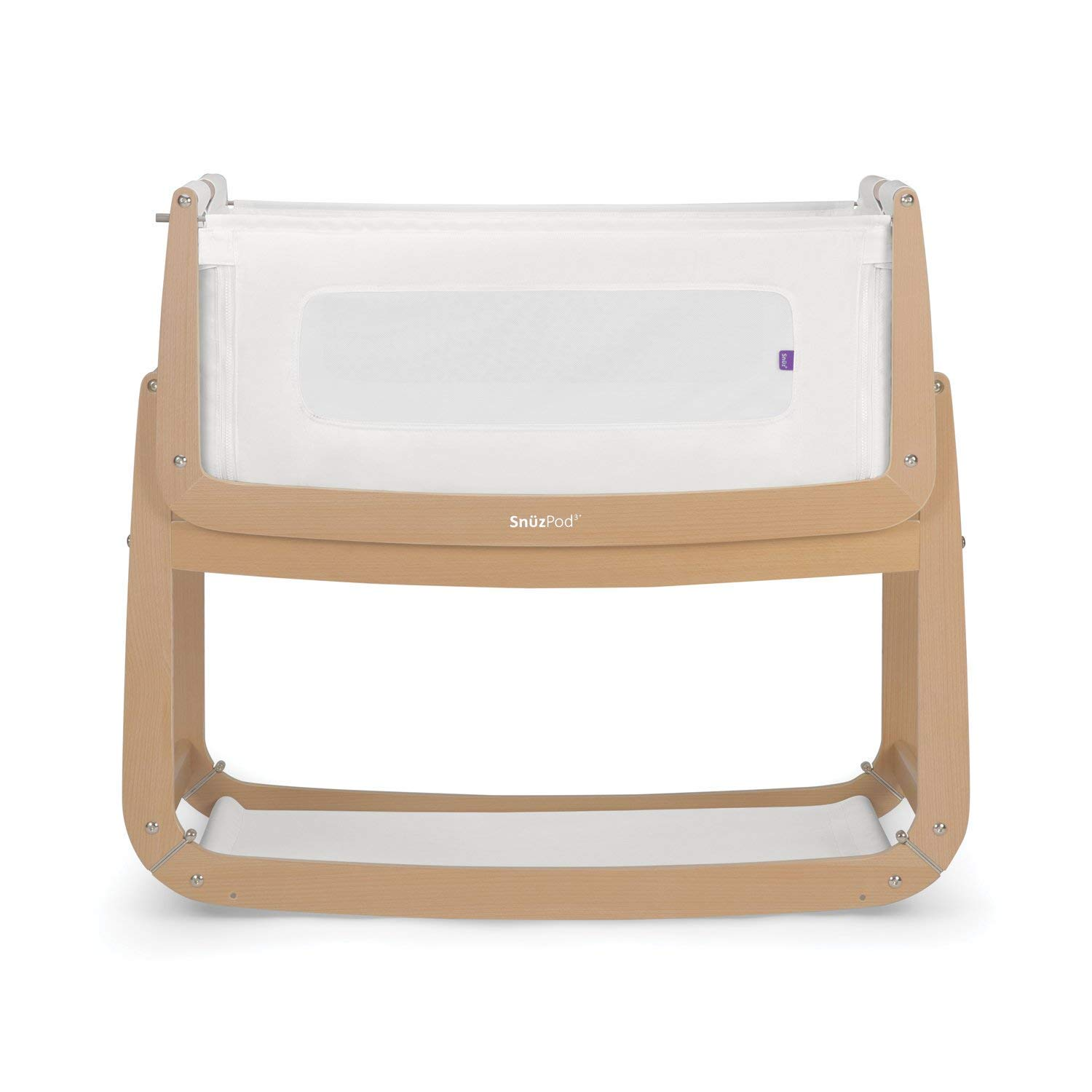 SnuzPod 3 Bedside Crib - Natural by Snuz