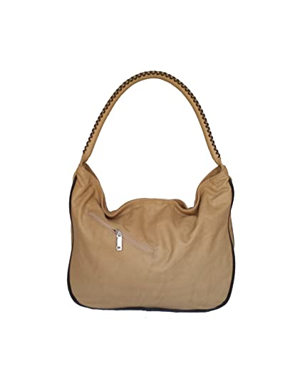 8daa08eaffd4 Amazon.com  Fgalaze Wash Camel Leather Hobo Purse