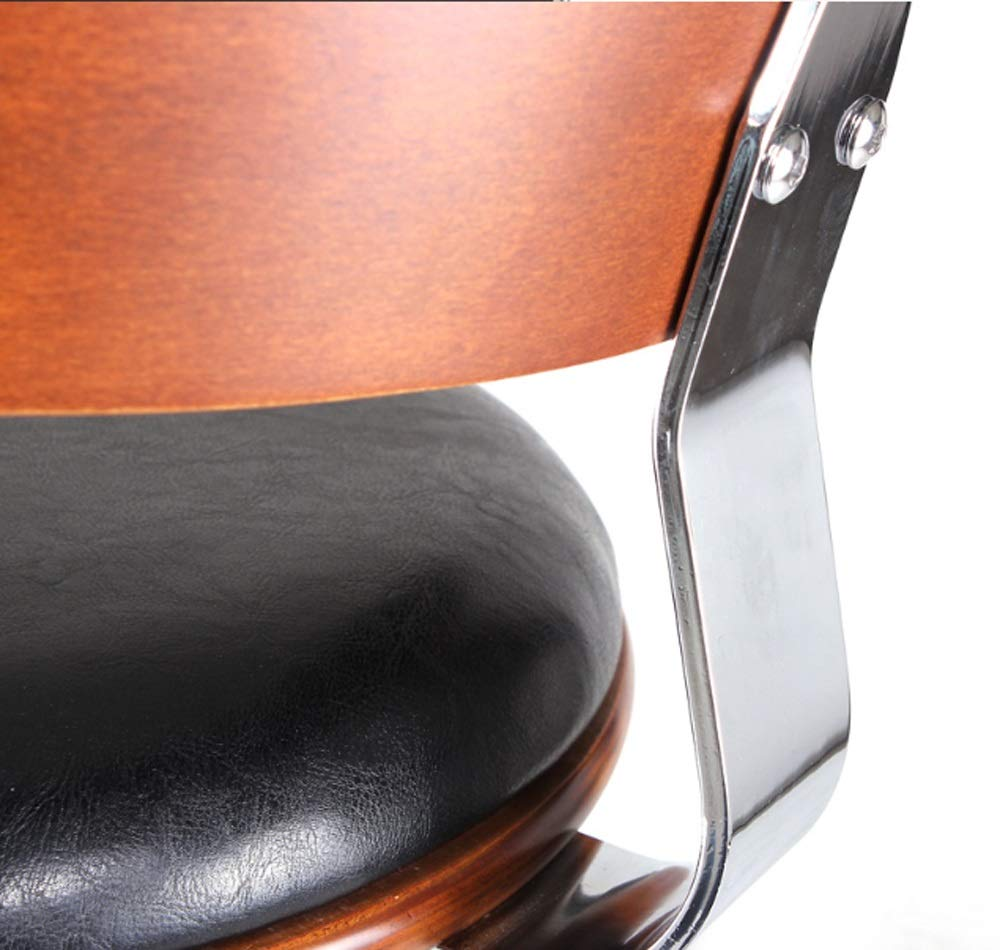 AO-stools Bar Chair Bar Stool Stylish American Solid Wood Bar Chair Lift 60x40x17cm by AO (Image #5)
