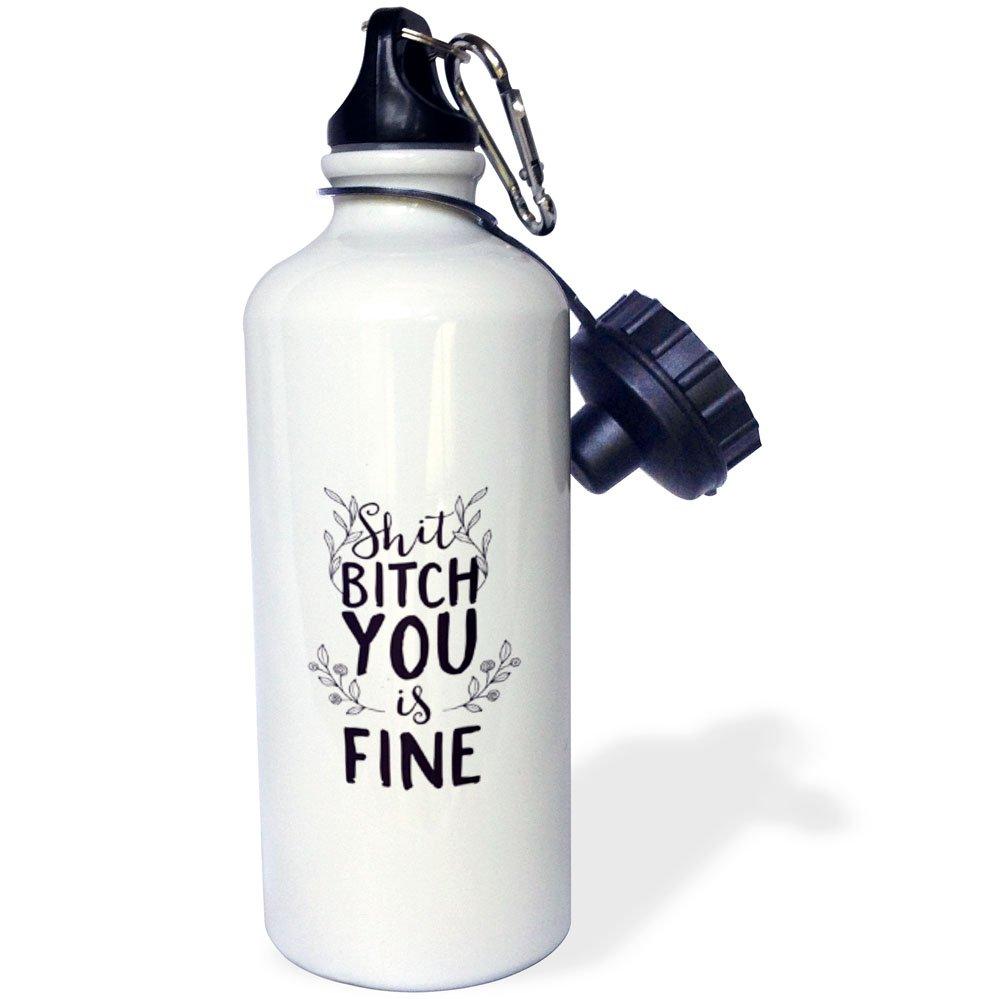 3D Rose 2 wb/_254153/_2 Flip Straw Water Bottle 21 oz