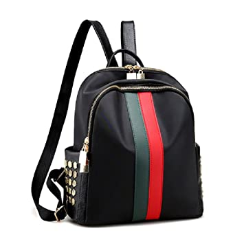 4be8c8804e Image Unavailable. Alovhad Fashion Mini Leather Oxford Small Backpack Purse  Teen Girl Travel Daypack School Bags for