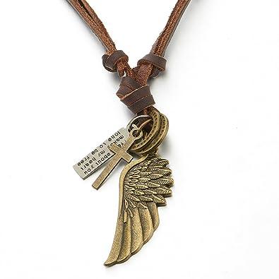 collier homme bronze