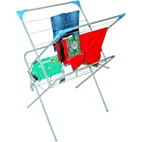 Peng Essentials Cloth Drying Stand / Clothes Hanger / Cloth Dryer / Folding Cloth Drying Stand / Laundry Drying Rack Stand / Garments Rack / Dryer Stand / Floor Cloth Dryer Stand / for drying all kinds of Indian attires