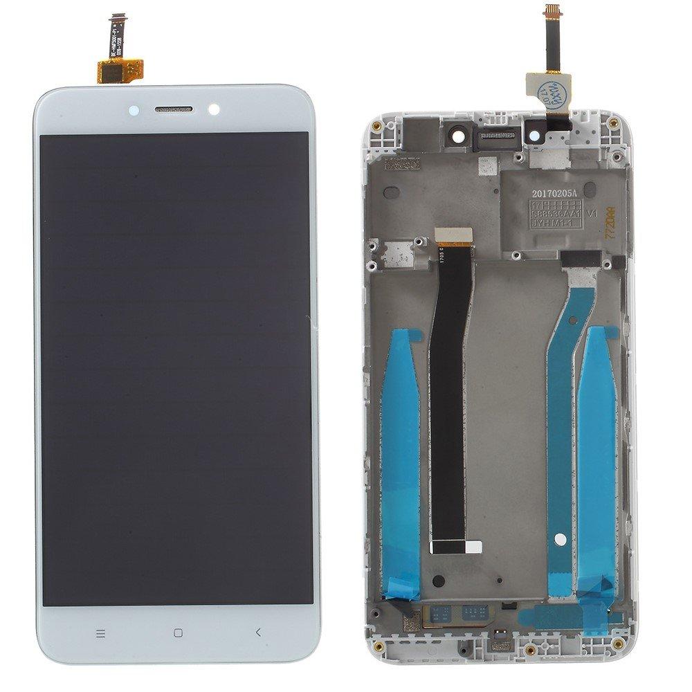 PANTALLA COMPLETA LCD + TACTIL + MARCO XIAOMI REDMI 4X BLANCO ...