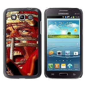 EJOY---Cubierta de la caja de protección la piel dura para el / Samsung Galaxy Win I8550 / --Fútbol Vintage