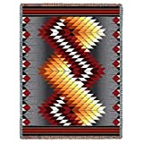 Black Forest Decor Whirlwind Fire Tapestry Throw