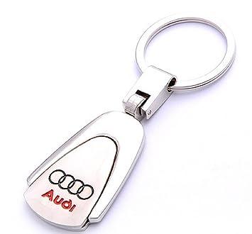 eaf861518825 Audi Porte-Clés Porte-clés Porte-clés Logo Voiture Audi en métal solide