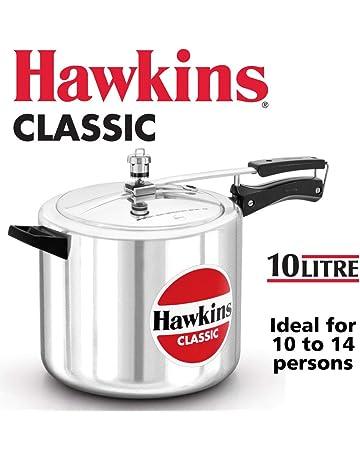 5072231a0 HAWKIN Classic CL15 1.5-Liter New Improved Aluminum Pressure Cooker, Small,  Silver