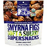 Made In Nature Organic Calimyrna Figs, Sun-Dried and Unsulfured, 7-Ounce Bags (Pack of 6)