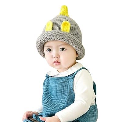 AISI bébé Kid pour enfant Motif lapin Laine à tricoter Bonnet d apos hiver  pour enfant ab3c10f633c