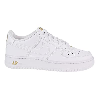 NIKE Air Force 1 GS 314192-178, Baskets Mixte Enfant, Mehrfarbig (White