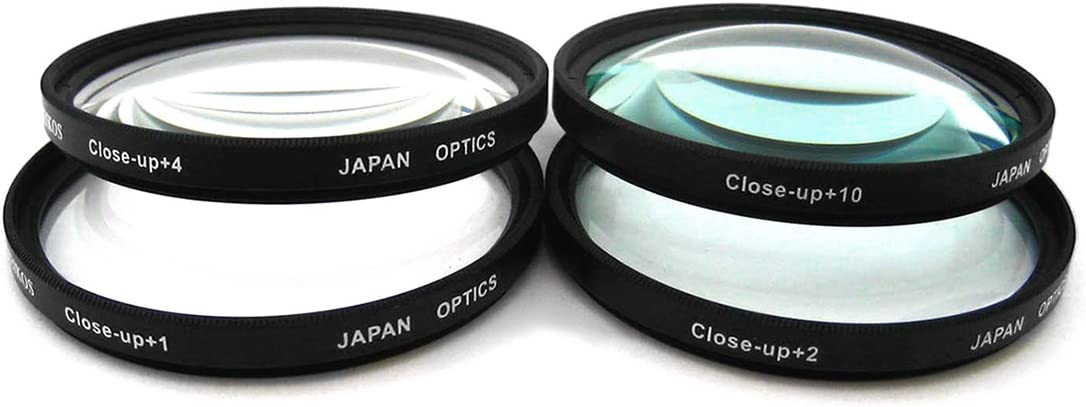 Close-Up Macro Filter Set +1 +2 +4 +10 and Lens Hood Bundle for Select Sony Digital Cameras Deluxe Accessory Set Included UltraPro 40.5mm Premium Filter Kit UV, CPL, FLD
