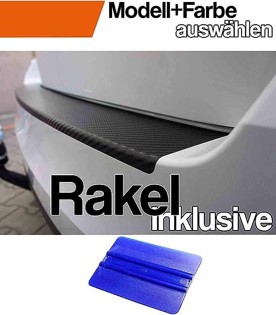 X3 F25 Ladekantenschutz Lackschutzfolie Mit Profi Rakel In 3d Carbon Schwarz Auto