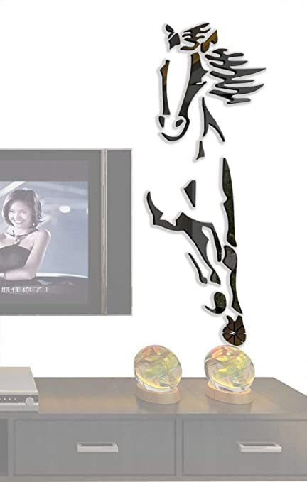 dced5358654 3d Running Horses Wall Murals for Living Room Bedroom Sofa Backdrop Tv Wall  Background