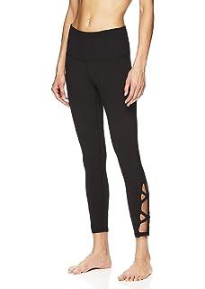 c886fe97692d8 Gaiam Women's Om High Rise Waist Yoga Pants - Performance Spandex  Compression Leggings