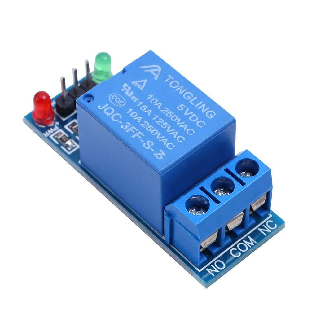 Morza Profundidad de Color 1//2//4//8//16 5V Placa de rel/és de Canal M/ódulo acoplador /óptico LED de sustituci/ón para los PIC de Arduino AVR Arm