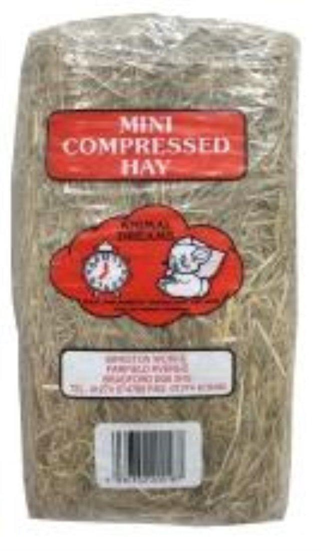 3 x Packs of Compressed Hay ANIMAL 810139
