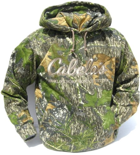 Cabela's Mossy Oak Obsession Camo Hunting Hoodie Men's for sale  Delivered anywhere in USA