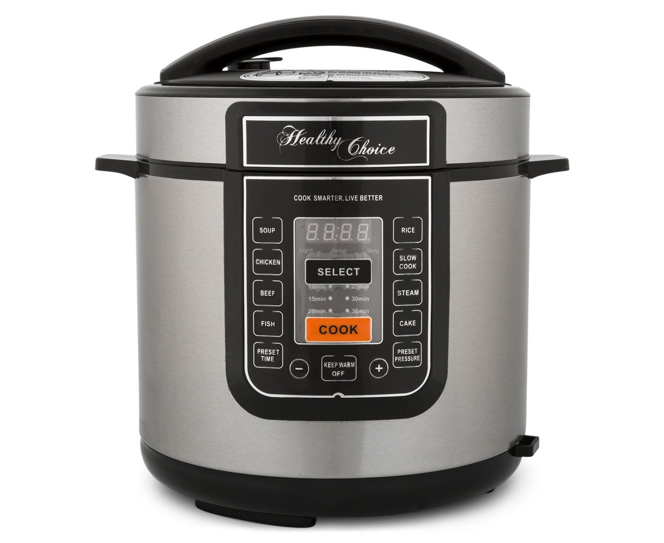 Healthy Choice 6L Pressure/Slow Cooker