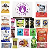 Happy Birthday Gift Box: Natural, Organic, Non-Gmo Verified, Healthy Snack Assortment Low Sugar Treats Care Package