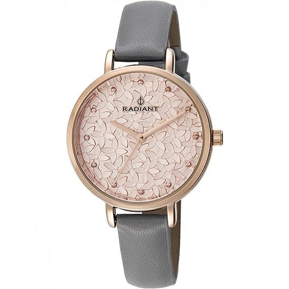 Reloj Radiant RA431603 Mujer Rosado Piel Cuarzo