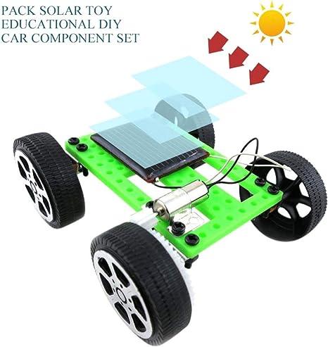 Solar Car, Moreaulun, bricolaje, ensamblaje de juguetes, juegos de ...