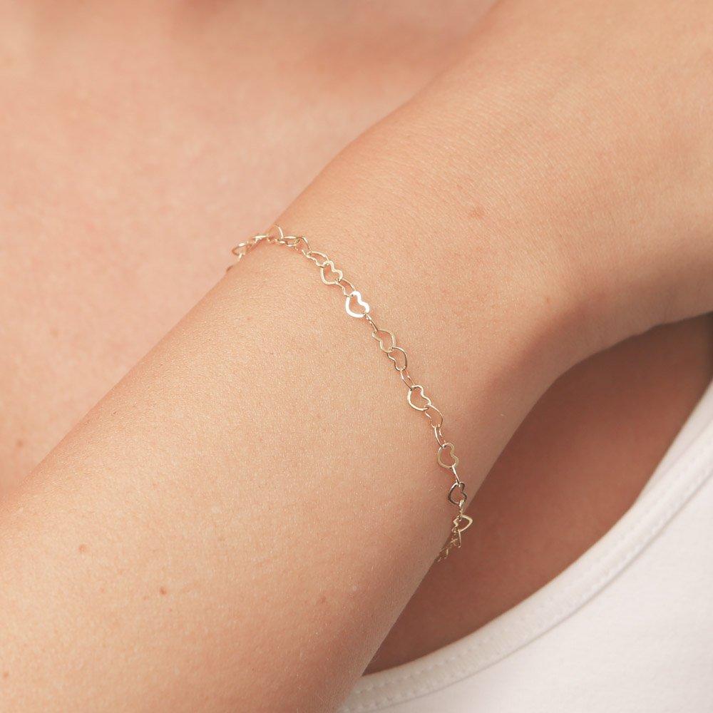 Bridesmaid Gift Gold Chain Bracelet Dainty Chain Bracelet Gold Bracelet Gold Layering Bracelets Gold Filled Bracelet