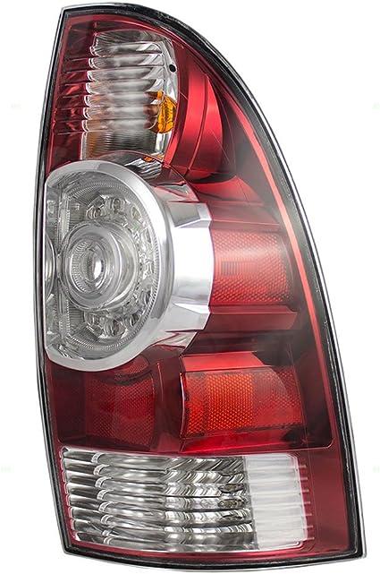 -Chrome 6 inch Driver side WITH install kit Larson Electronics 1015P9JDCEM 1991 Toyota PREVIA Post mount spotlight LED