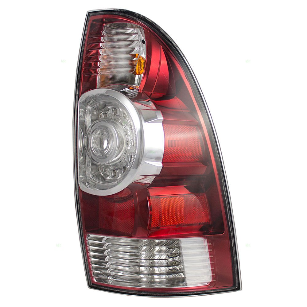 Passengers Taillight Tail Lamp with LED Center Lens Replacement for Toyota Tacoma Pickup Truck 8155004160