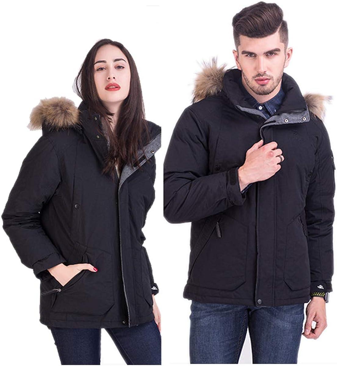 lovever Men Hooded Packable Light Weight Down Puffer Jackets Coats