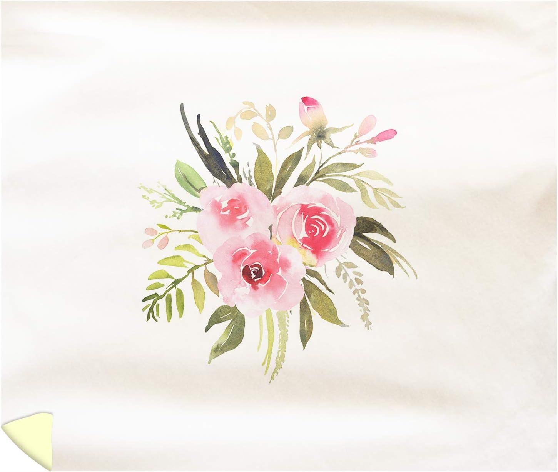Amazon Com Lantern Press Bohemian Watercolor Flower Bouquet With