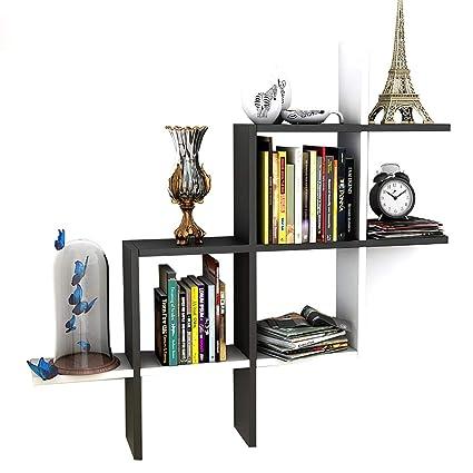 Support cloison Bibliothèques en massif de bois livre tdhxrosQCB