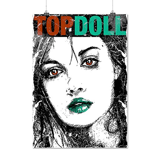 Top Doll Love Lady Beauty Face Matte/Glossy Poster A3 (12x17 inches) | (Lovelace Top)