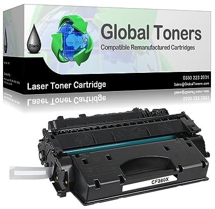 Global Toners CF280X 80 X - Cartucho de tóner láser ...