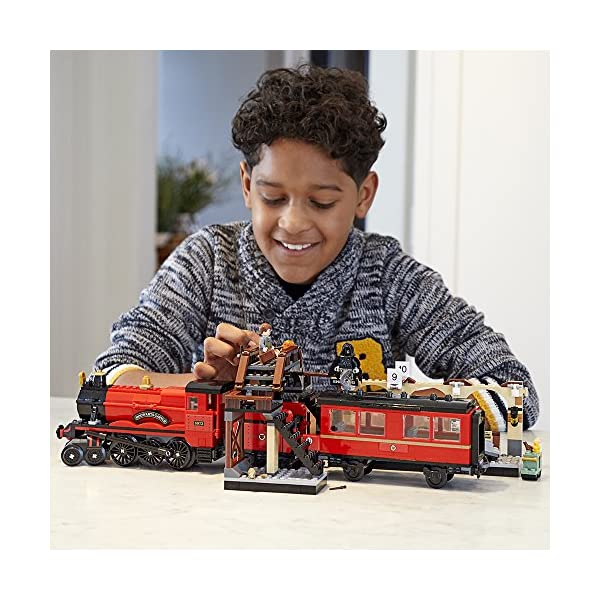 LEGO Harry Potter Hogwarts Express 75955 Toy Train Building Set Includes Model Train and Harry Potter Minifigures…
