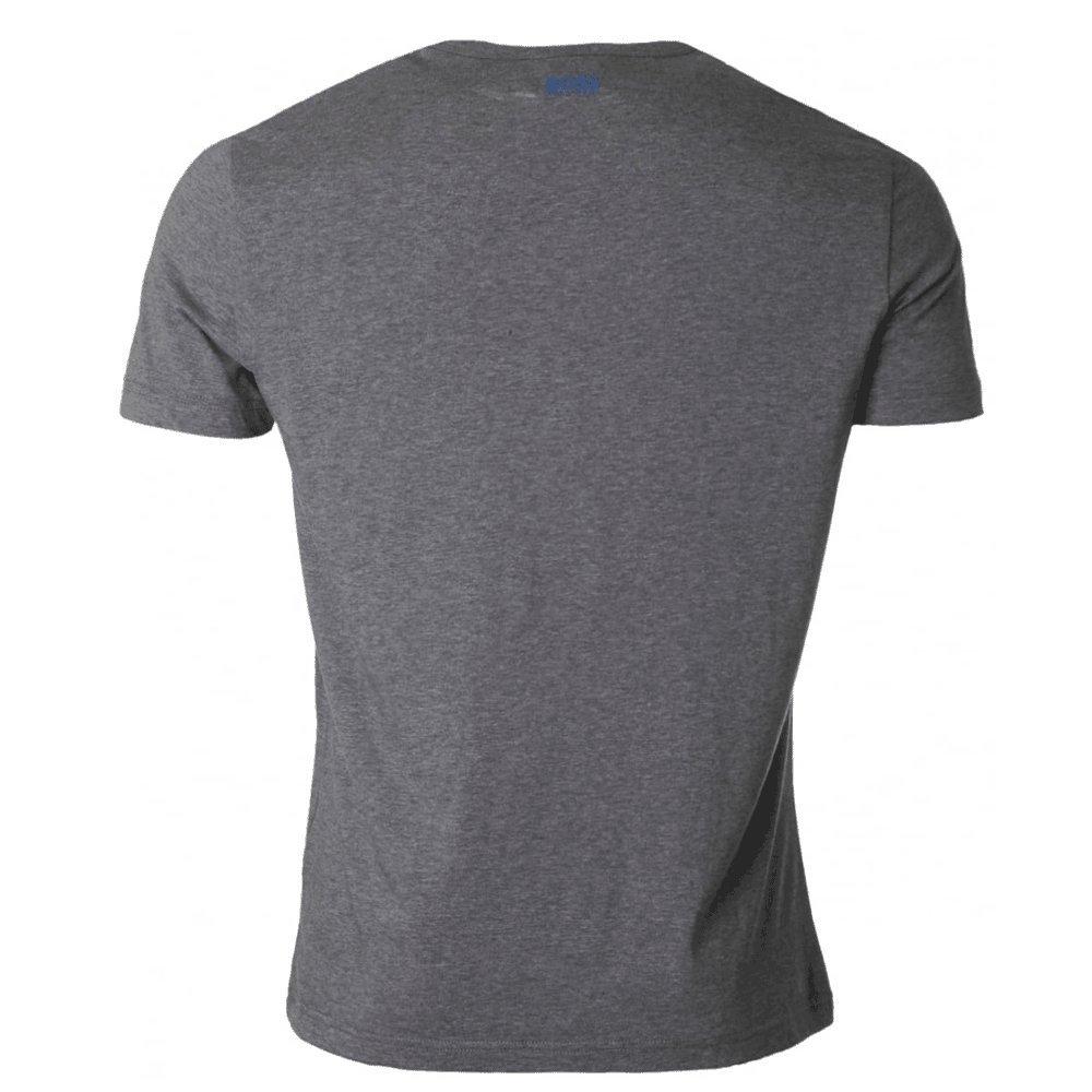 c736bbc263 Boss Green Tee 2 Logo T-Shirt Dark Grey 50372453 XX-Large: Amazon.co.uk:  Clothing