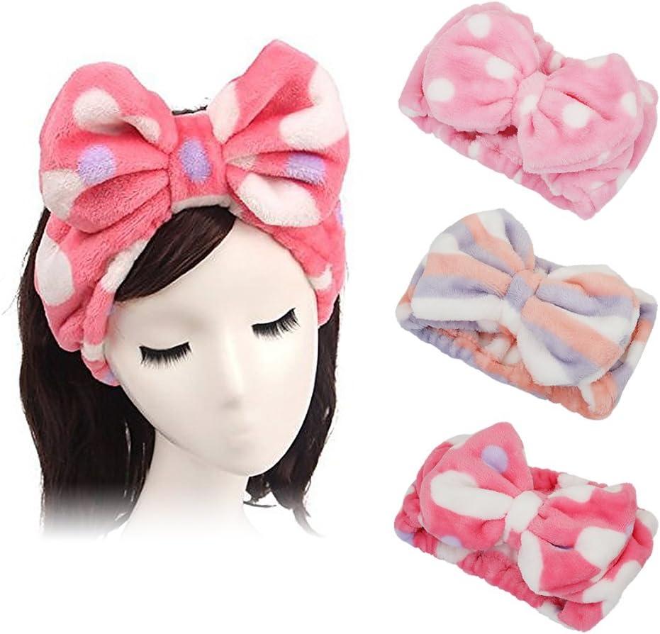 Portable Big Eyes Hair Band Headband Elastic Head Wrap Hair Band Spa Makeup G