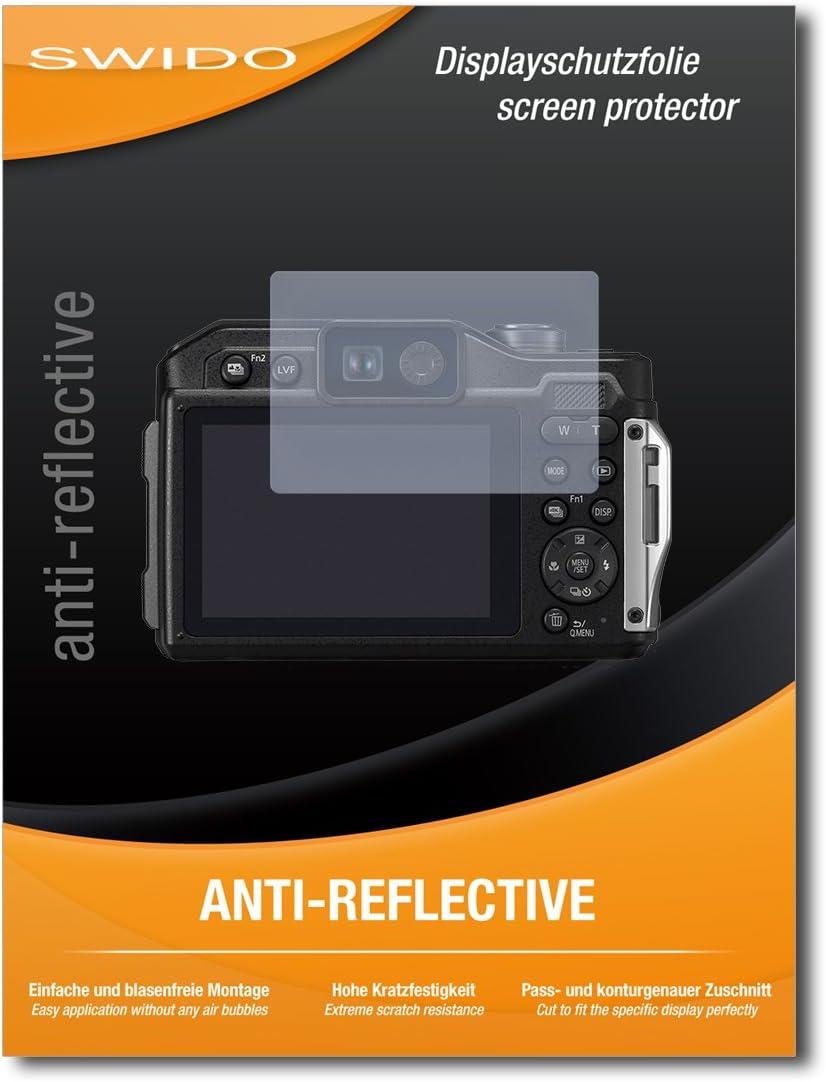 Panzerglas-Folie Hoher H/ärtegrad Displayschutzfolie Schutz vor Kratzer//Displayschutz 2 St/ück SWIDO Schutzfolie f/ür Panasonic Lumix DC-FT7 Anti-Reflex MATT Entspiegelnd