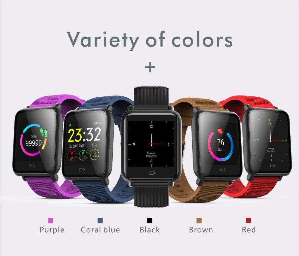 UTHDELD Smartwatch Reloj Inteligente Q9 Monitor de Ritmo ...