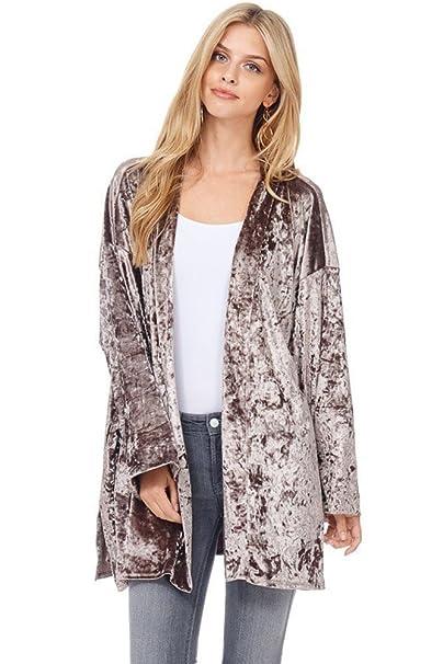 Amazon.com: Moderno Kiwi Bohemian beauty Kimono chaqueta de ...