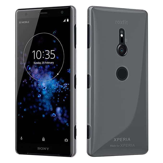 roxfit xperia xz2 compact  : Genuine Roxfit Anti Scratch Precision Slim Shell for ...